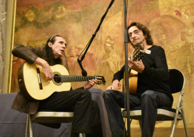 Bernardo Sandoval et Serge Lopez