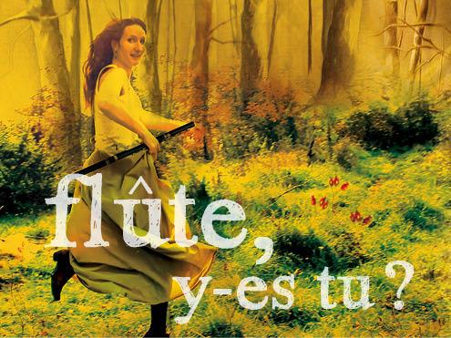 Flûte, y es-tu - Cie L'orchestre de chambre d'hôte
